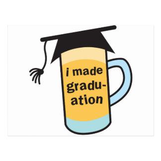 I made it to Graduation CHEERS! Postcard