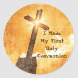 I Made My First Holy Communion Stickers