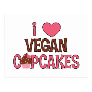 I magdalenas del vegano del corazón postales