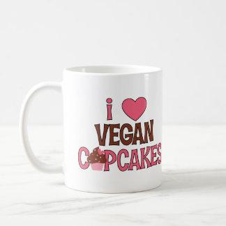 I magdalenas del vegano del corazón taza básica blanca