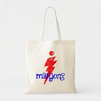 i mahjong fashionable maven players tote bags