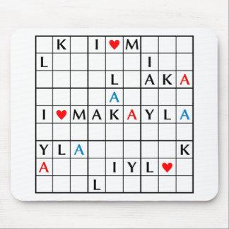 I♥MAKAYLA ALFOMBRILLAS DE RATONES