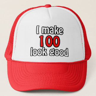 I make 100 garlic good trucker hat