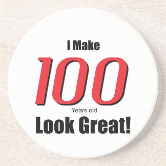 I Make 100 years old Look Great! Sandstone Coaster