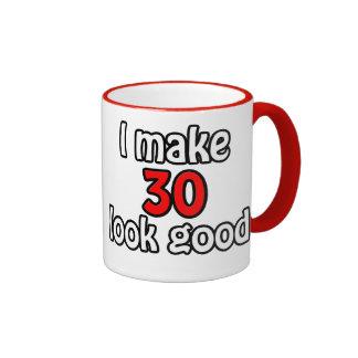 I make 30 garlic good coffee mugs