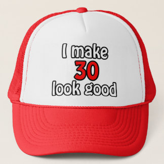 I make 30 garlic good trucker hat