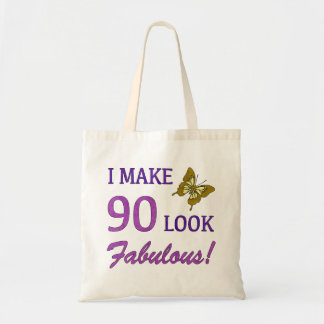 I Make 90 Look Fabulous! Tote Bag