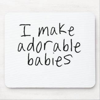 I make adorable babies mouse pad