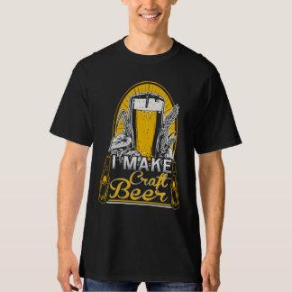 I Make Craft Beer T-Shirt Craftbeer Lover Maker