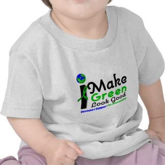 I Make Green Look Good Environment Awareness Tee Shirts