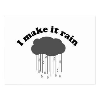 I Make It Rain Postcard