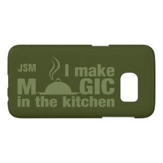 I Make Magic custom monogram phone cases