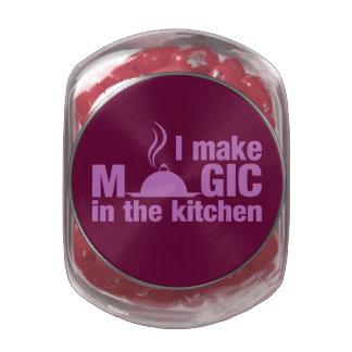 I Make Magic custom tins & jars Glass Candy Jar