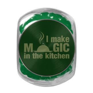 I Make Magic custom tins & jars Glass Candy Jars