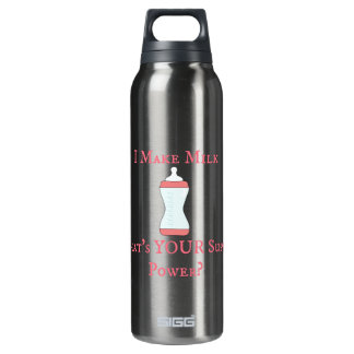 I make milk purple 16 oz insulated SIGG thermos water bottle