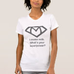 I make milk what's your superpower shirt
