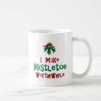 I Make Mistletoe Worthwhile Mug