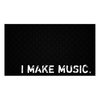 I Make Music Double-Sided Standard Business Cards (Pack Of 100)