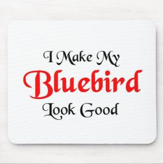 I make my bluebird look good mouse pad
