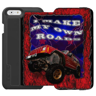 I Make My own Roads 4x4 iPhone 6/6s Wallet Case