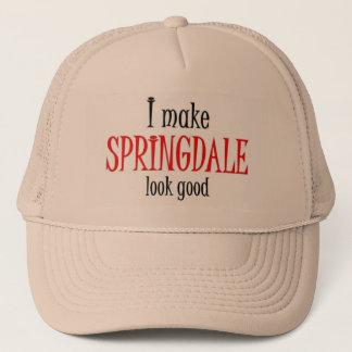 I make Springdale look good Trucker Hat