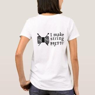 I Make String Pretty • Crafts Yarn T-Shirt