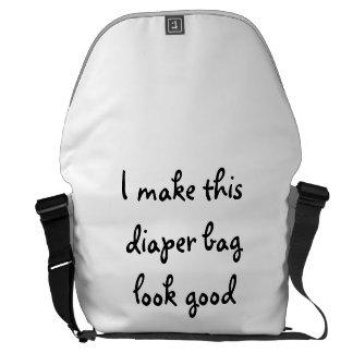 I Make This Diaper Bag Look Good