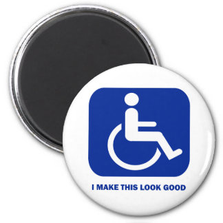 I make this look good 2 inch round magnet