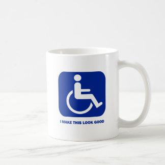 I make this look good classic white coffee mug