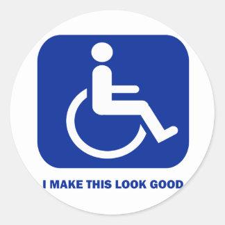 I make this look good sticker