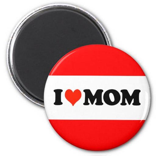 I mamá del corazón iman