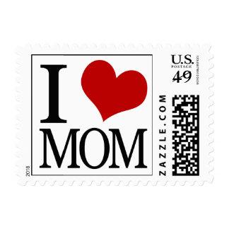 I mamá del corazón timbre postal