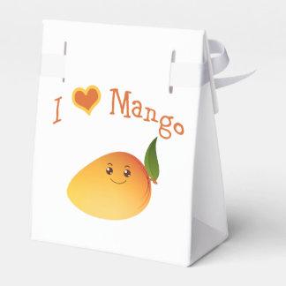 I mango del corazón (amor) cajas para regalos de fiestas