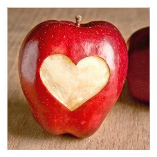 I manzanas del corazón fotografia
