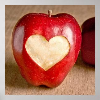 I manzanas del corazón póster