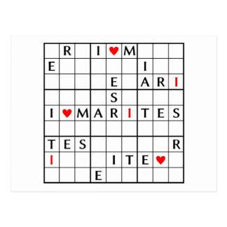 I♥MARITES POSTCARD