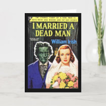I Married A Dead Man | Pulp Greeting Card 5 x 7