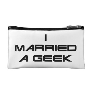 I Married a Geek Makeup Bag