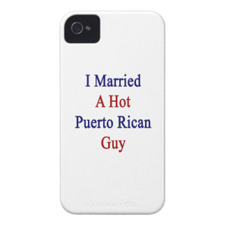 I Married A Hot Puerto Rican Guy iPhone 4 Covers