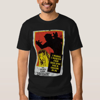 I married a werewolf from outerspace t-shirts
