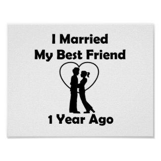 I Married My Best Friend 1 Year Ago Poster