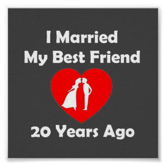 I Married My Best Friend 20 Years Ago Poster
