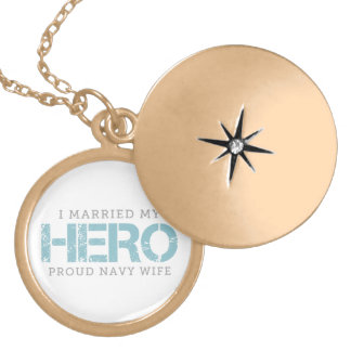 I Married My Hero - Sailor's Wife Locket Necklace