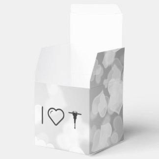 I martillos perforadores del corazón caja para regalos