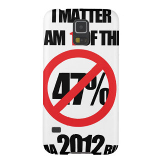I matter, you matter, let everyone know it! case for galaxy s5