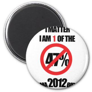 I matter, you matter, let everyone know it! fridge magnets