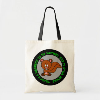 I may be crazy but I can still get the job done Tote Bag