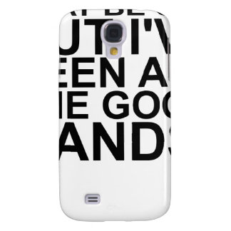 I MAY BE OLD, BUT I'VE SEEN ALL THE GOOD BANDS! SH SAMSUNG GALAXY S4 CASE