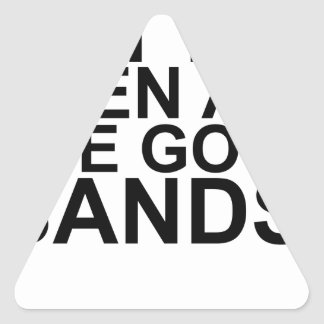 I MAY BE OLD, BUT I'VE SEEN ALL THE GOOD BANDS! SH TRIANGLE STICKER