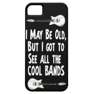 I may be old, cool bands! iPhone SE/5/5s case